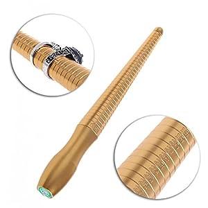 ACAMPTAR Kupfer Glatte Ring Gauge Dorn Sizer messen Schmuck Stick Finger Tools