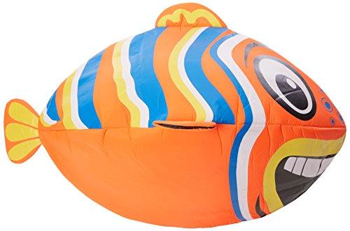 Preisvergleich Produktbild Waimea Jungen Riesen Fisch Aufblasbar American Football, Orange, One Size