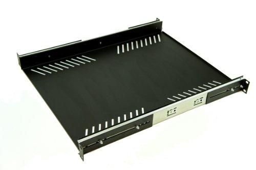 Preisvergleich Produktbild 1U Rack Schiebegardine - tiefe Version 55,88 cm/600 mm