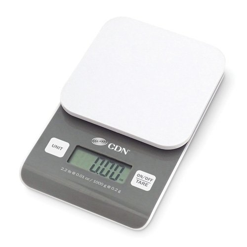CDN Digital Precision Scale, 2.2 lb. SD0202-1