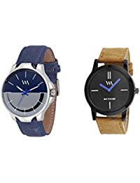 Watch Me Gift Combo Set For Him/Watches For Men/Watches For Boys (watches 3 Combo/watches 2 Combo) WMC-002-BR-AWC... - B0778TNPZW