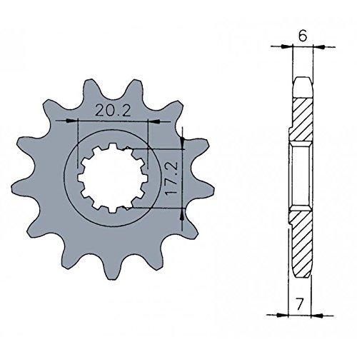 Unbekannt B1–Ritzel Standard 12Zähne Kette 420Motoren AM6