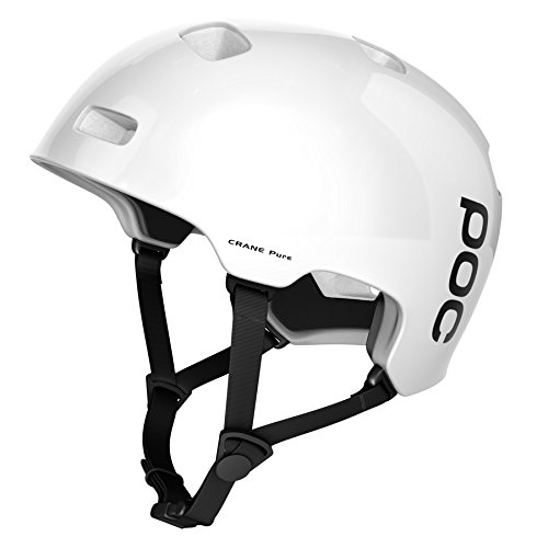 POC Crane Pure Unisex Helm, Hydrogen White, XS-S (51-54 cm)