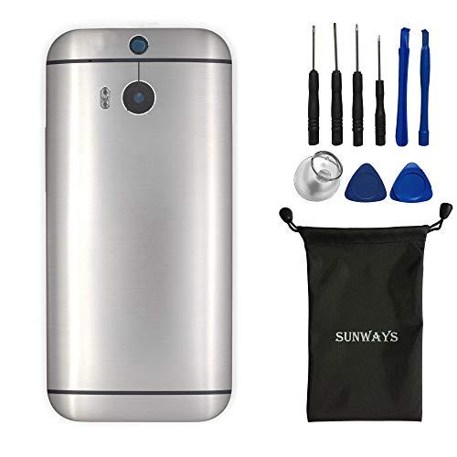 Sunways Akkugehäuse mit Rückkamera-Glaslinse und Lautstärkeregler, kompatibel