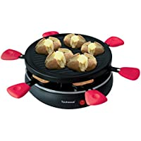 Techwood TRA - 65 Raclette Grill Set para 6 personas