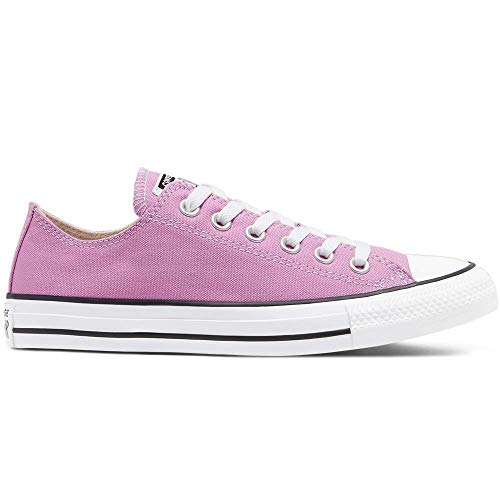 Converse Chuck Taylor All Star - Zapatillas de Lona Unisex con Adhesivo de 7 km/h, Color Rosa, Talla...