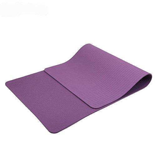 457aa4ca5 MaxYoga Esterilla para Yoga Pilates Gimnasia de material ecológico TPE. Yoga  Colchoneta Esterilla