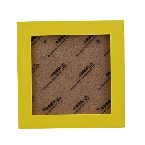 Vovotrade Nuovo Ufficio Moda Home Decor Cornice di legno Photo Wall Telaio (17.8*17.8cm/7*7inch,