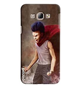 Omnam Small Child Annoying Printed Designer Back Cover Case For Samsung Galaxy A8