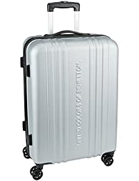 UCB ABS 68 cms Grey Suitcases (0IP6HAB24E02I)