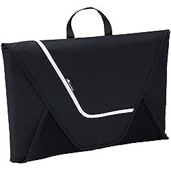 Alpamayo® Bolsa para camisas, Maleta para camisas sin arrugas en viajes, para transportar camisas en la valija, equipaje de mano o bolsa de viaje, en color negro