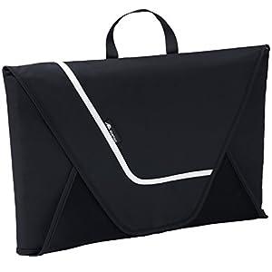 ALPAMAYO Hemdentasche für knitterfreie und faltenfreie Hemden auf Reise für den Transport von Hemden im Koffer, Handgepäck oder Reisetasche, schwarz