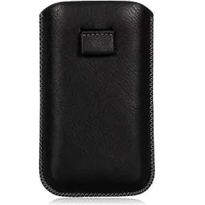 Wicked Chili Leder Etui 2.0 / Leather Pouch vertikal für Nokia Lumia 800 Ledertasche, Hülle, Lederetui, Tasche, Holster mit Ausziehilfe