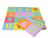 NEU! Lernmatte BIG PUZZLE (72 Elemente) Buchstaben & Zahlen - Spielmatte Alphabet Lernspielzeug Puzzlematte Schaumpuzzle Bodenpuzzle Spielteppich für Kinder