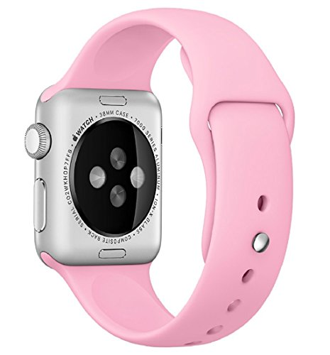 Preisvergleich Produktbild 42mm iWatch Band Tonsee Neue Releases Sport Armband Armband Silikonband (Rosa)