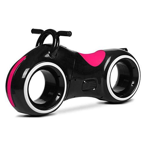 HLJ.SUN Kinder Roller Zwei mit Rädern Platz Rad Roller Kabellos Bluetooth LED Musik Balance Auto Einfach Zu Tragen Sport
