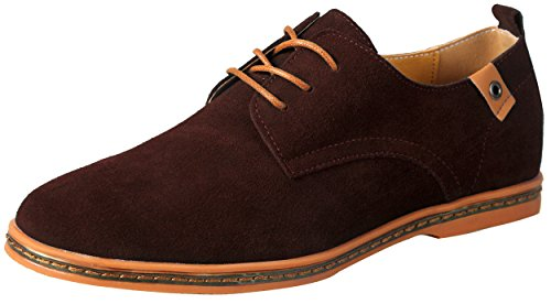iLoveSIA - Brogue uomo , Marrone (New Brown), 43