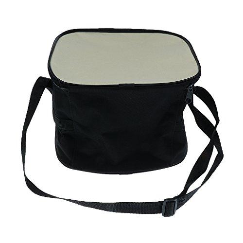 Sharplace Unisex Sporttasche Schultertasche Umhängetasche mit Verstellbar Schulterriemen Balltasche für Basketball Fußball Volleyball - Weiß