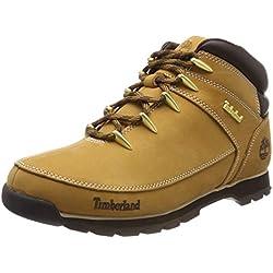 Timberland Euro Sprint Hiker-Botas de montaña para hombre , color marrón, talla 42 EU