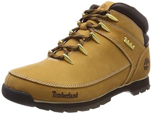 Timberland Herren Euro Sprint Hiker Chukka Boots, Gelb (Wheat Nubuck), 43 EU -