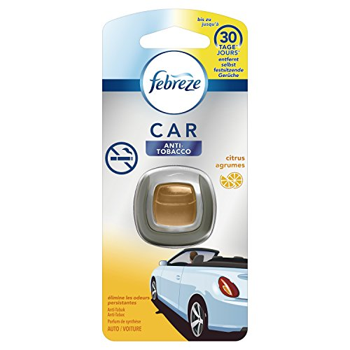 Febreze Anti-Tabak Auto-Lufterfrischerclip, 3er Pack (3 x 1 Stück) (Auto Rauch)