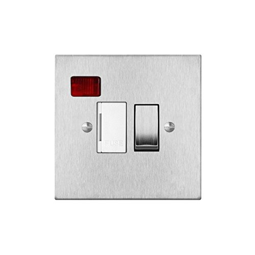 fuse-spur-1-gang-13-amp-switch-fuse-neon-spur-satin-stainless-steel