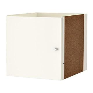 IKEA KALLAX Einsatz mit Tür in weiß; (33x33cm)