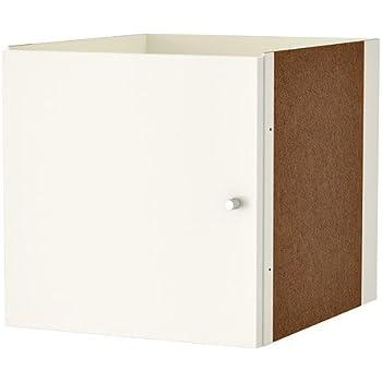 Ikea Türen ikea kallax einsatz mit tür in weiß 33x33cm amazon de küche