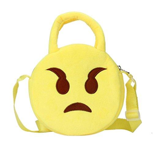 Transer - Borse a spalla Ragazza, donna Emoji B