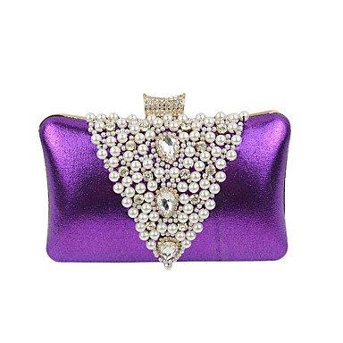 Frauen kunstleder Formale/Event/Party/Hochzeit Abend Tasche Purple