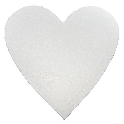 Keilrahmen Frau Wundervoll Herz 60 x 60 cm / Leinwand Herz / Hochzeitsspiel Leinwand bemalen / Gelgeschenk Hochzeit / Keilrahmen Herz / Leinwand Herz/ Keilrahmen Herzform / Leinwand Herzform