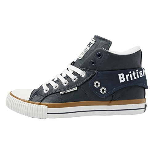 British Knights Damen Roco High-Top DUNKELBLAU/WEISS