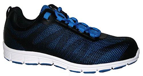 Groundwork , Chaussures de sécurité pour homme Noir/bleu
