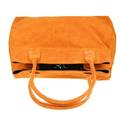 Craze London, Borsa a spalla donna Tan