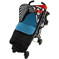 Saco, silla de paseo, color rojo, compatible con cochecito Maclaren Quest Sport