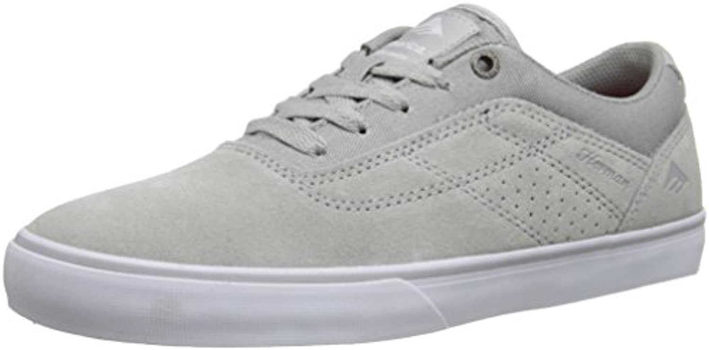 Emerica Skateboard Shoes The Herman G6 Vulc Light Gray Size 12  -