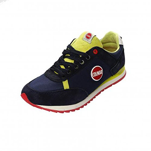Colmar sneaker uomo Travis Colors 112 Navy/Lime nr.44