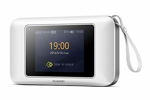Huawei e57874G/300Mbps Touchscreen entsperrt High Speed Mobile WLAN Hotspot Gerät–Weiß