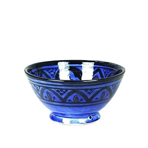 Orientalische marokkanische Keramikschale Keramik Müsli Obst Salat Schale Schüssel Deko mittel Color