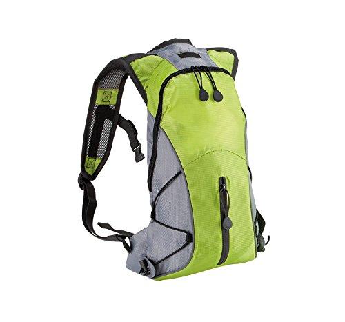 Ultraleichter Hydra Sport Rucksack in Kontrastfarben, Farbe:Burnt Lime/Slate Grey;Größe:31 x 21 x 8 cm 31 x 21 x 8 cm,Burnt Lime/Slate Grey