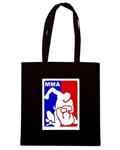 T-Shirtshock - Borsa Shopping TAM0184 vertraulich mixed martial arts liga plakat-rd7e46694dc3d4c9e8c81fd5d70243894 69d 8byvr 512 Nero