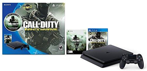 PlayStation 4 Slim 500GB Console - Call of Duty: Infinite Warfare Legacy Bundle(US Version, Imported)