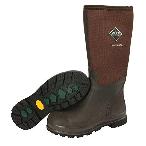 Muck Boots Chore Cool High, Stivali di Gomma Unisex-Adulto Marrone (Brown/brown)