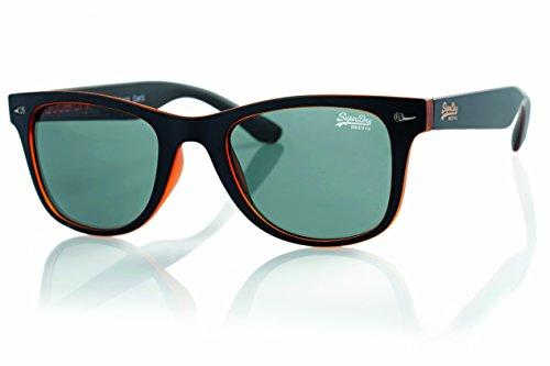 Superdry SDS Rookie 104 Lesebrille Größe 52-22 / schwarz/orange / 0 Dioptrien