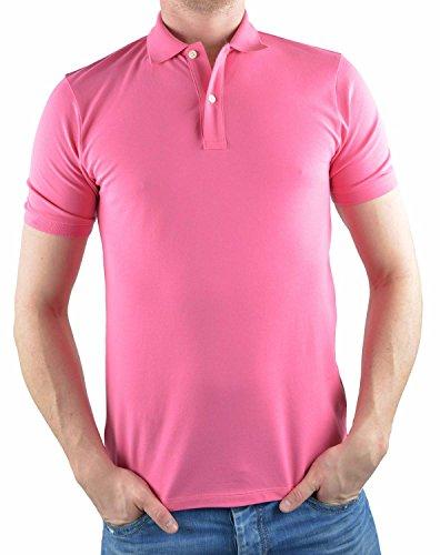 Olymp Poloshirt granat, Einfarbig 96% Baumwolle / 4% XLA ohne Brusttasche Pink