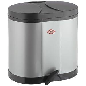 Wesco Öko-Sammler 170 - 2 x 15 Liter silber