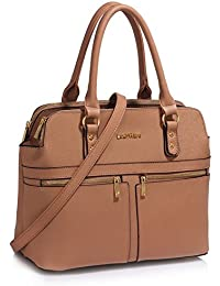 3471ca2398c5 LeahWard Women s Tote Bags Celeb Style Nice Handbags 3 Compartments Large  Bag 250 (LW BLACK