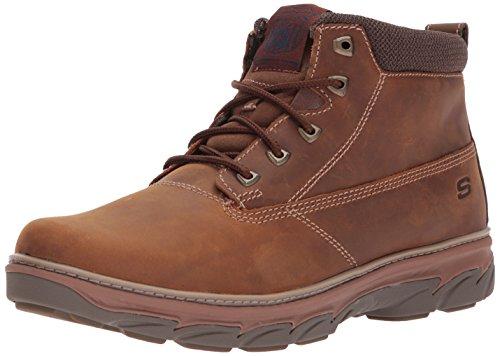 Skechers Men's ResmentAlento Ankle Boots, Brown - Braun (CDB), 11 D(M) US