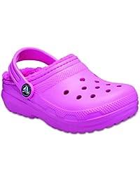 Crocs Classic Lined Clog K, Zuecos Unisex niños