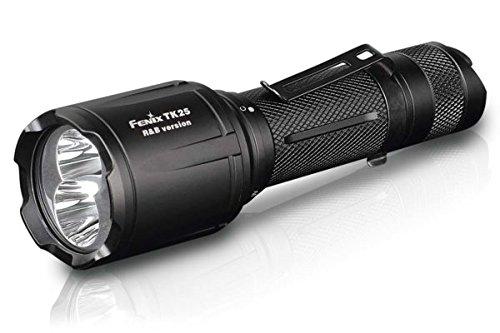 Fenix TK25RB weisse rote und blaue LED Taschenlampe